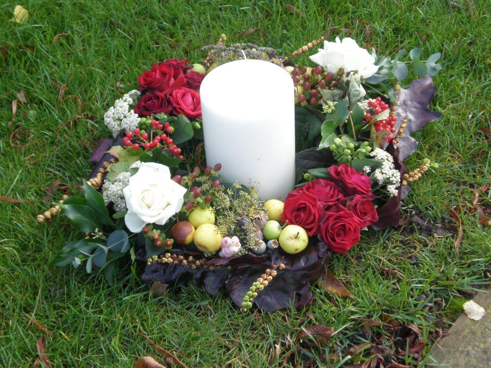 Autumn flowers for an autumn wedding (5/6)