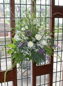 Pedestal arrangement - Margaret Fiddes